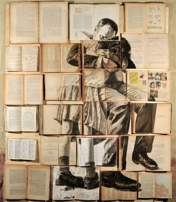 Живопись на книгах от петербургской художницы