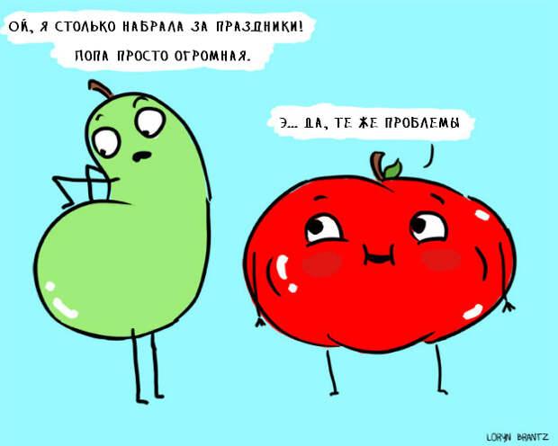 """9 вещей, которые так хорошо знакомы девушкам с фигурой """"яблочком"""""""