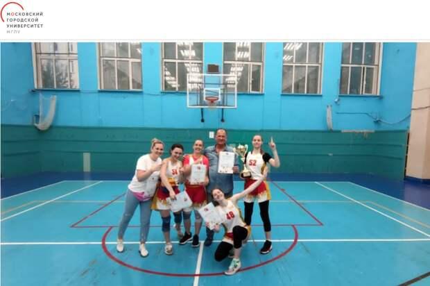 Женская сборная МГПУ по баскетболу выиграла Московские студенческие игры
