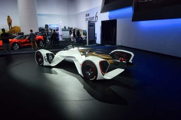Автомобиль с лазерным двигателем и скоростью космического корабля