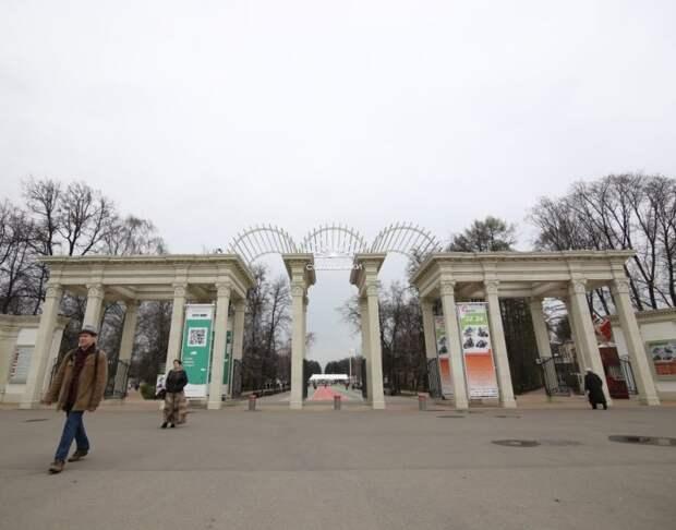 В парке «Сокольники» отключат иллюминацию у главного входа/Артур Новосильцев, «Восточный округ»