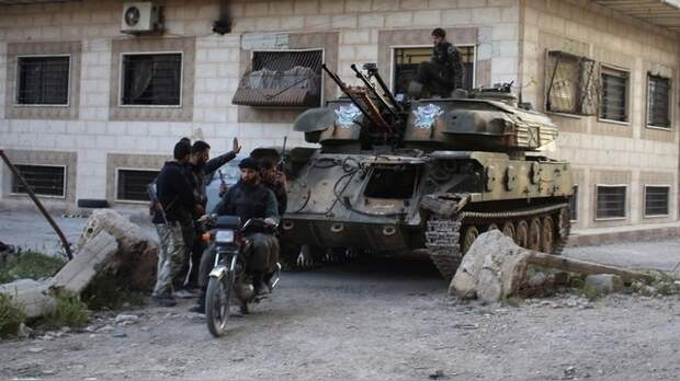 Südwest Presse: Русским солдатам придется сделать всю работу за сирийцев
