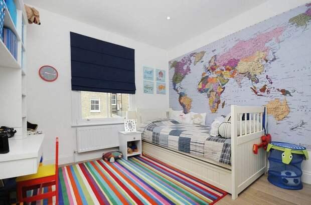 Безопасные и стильные материалы для детской