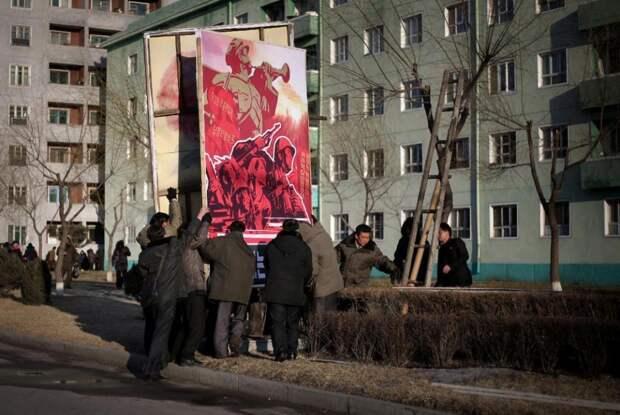Ядерная улыбка КНДР - фоторепортаж