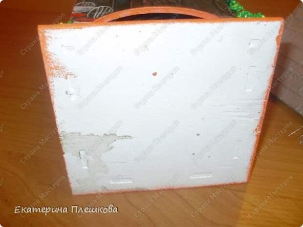 Декор предметов Мастер-класс 8 марта День рождения Декупаж МК Чайного домика Бумага Дерево Крупа фото 37