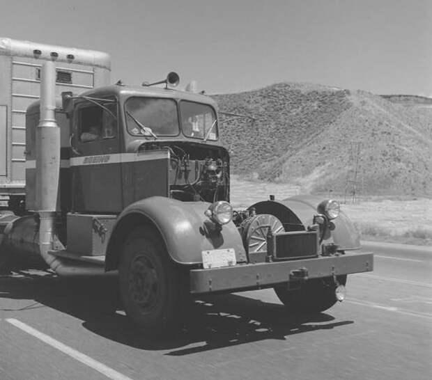 Газотурбинный грузовик Kenworth