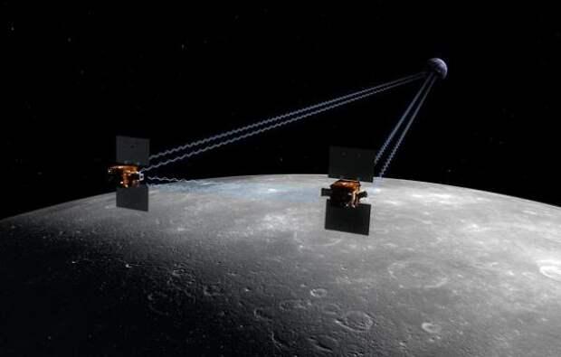Путешествие к центру Луны