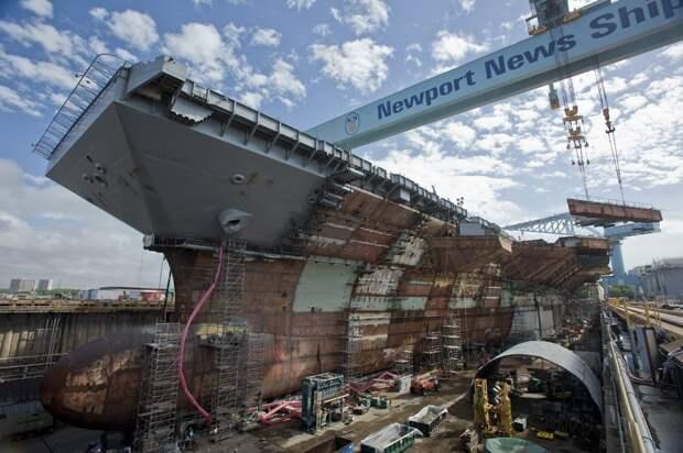 Строительство каждого авианосца США - это 13 миллиардов за один корабль плюс 50 миллиардов за весь срок его эксплуатации. Не считая еще такой же суммы на корабли эскорта