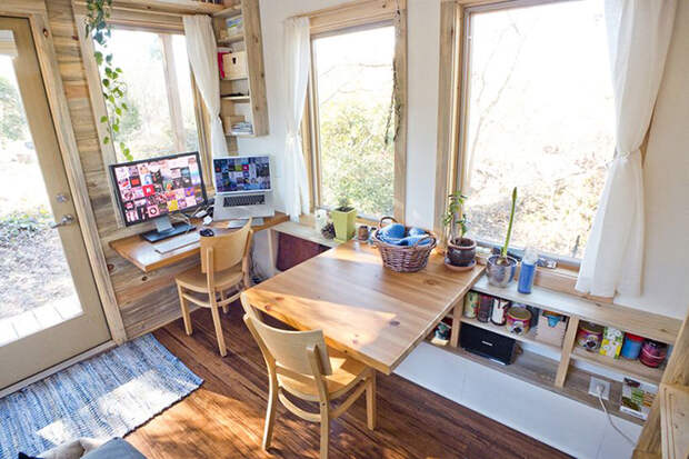 Столовая и офис