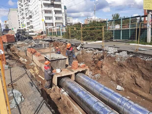 В Ижевске до начала отопительного сезона заменят более 55 км теплосетей