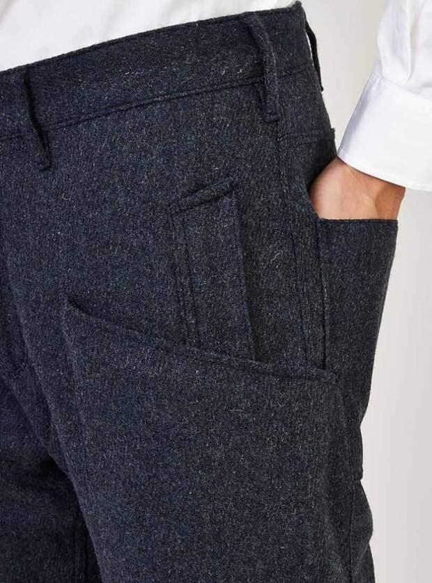 Три детали для тех кто шьет мужские брюки