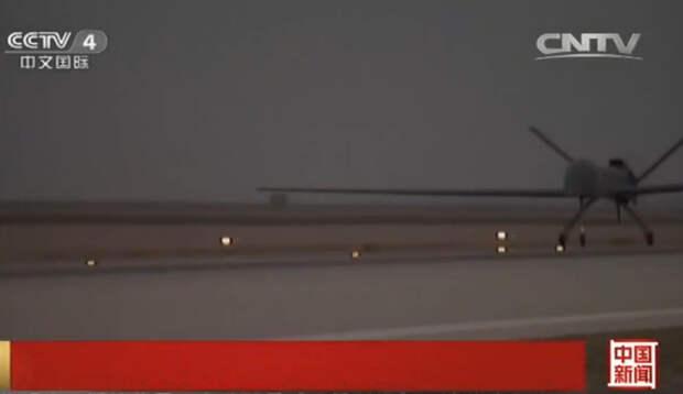 Крупнейший БПЛА китайского производства «Цайхун 5» совершил первый полет в провинции Ганьсу