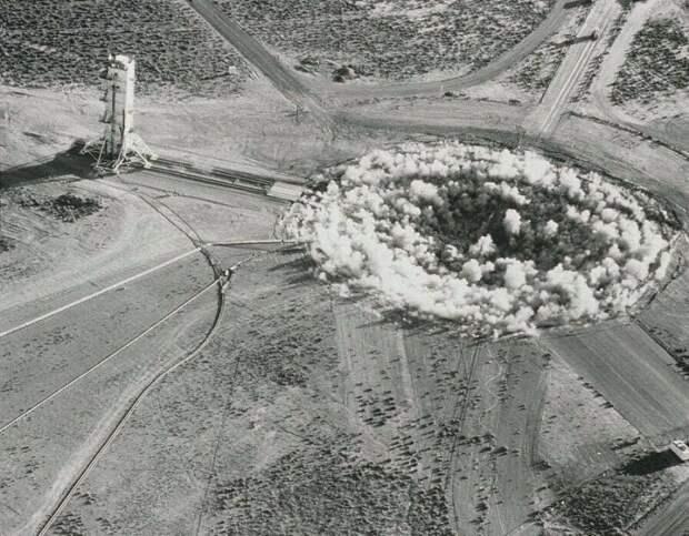 Подземный ядерный взрыв. США, 22 октября 1964 года история, ретро, фото, это интересно