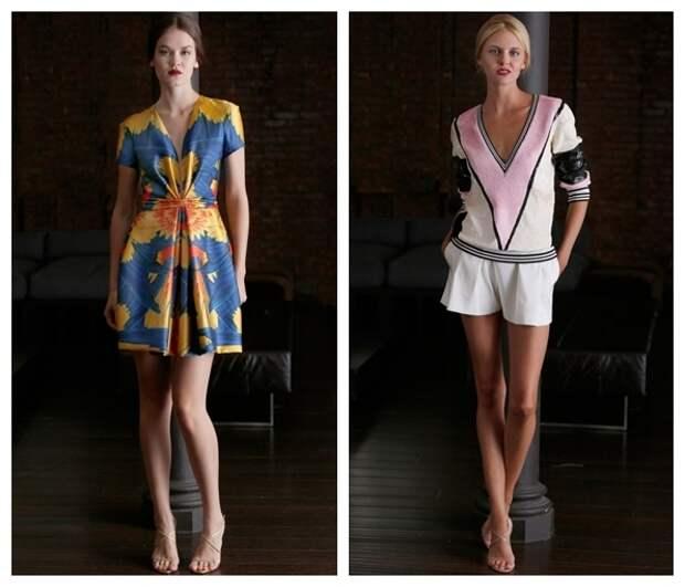 Мода для женщин весна-лето 2015