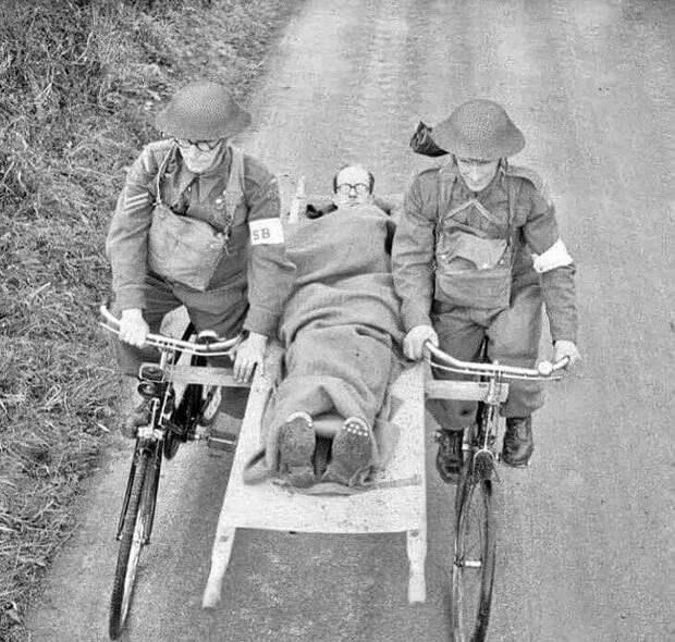 Скорая помощь 1894 года, Италия.