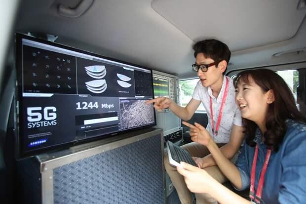 Samsung и LG U+ сообща займутся развитием 5G-технологий