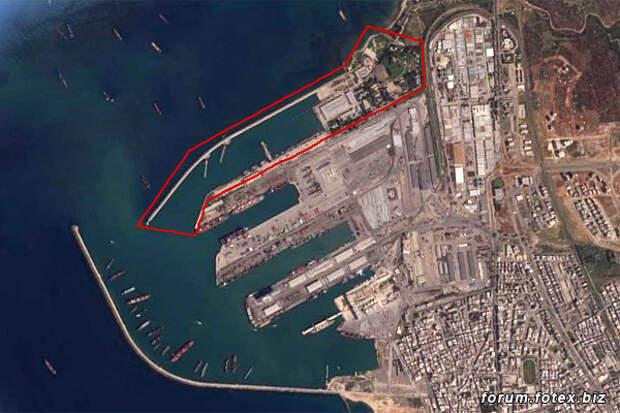 Пункт обеспечения ВМФ России в сирийском порту Тартус модернизируют
