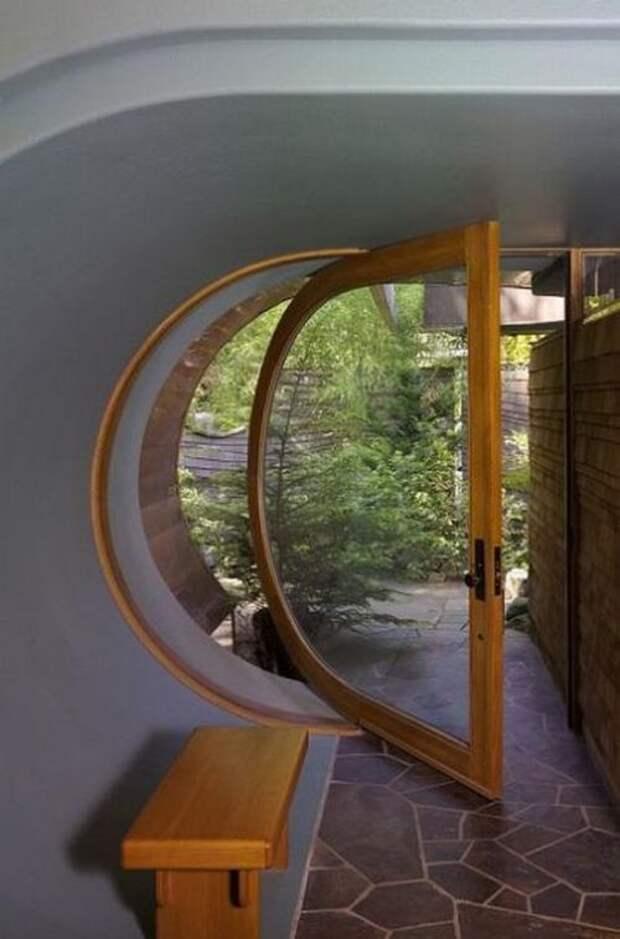 Сказочный домик в лесу (15 фото)