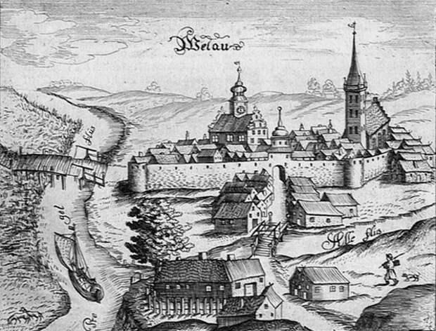 Замок Велау.