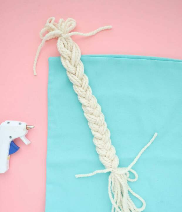 Крейзи подушка из шерсти (DIY)