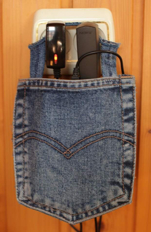 Мои работы из старых джинсов (трафик)