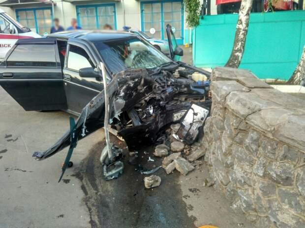 Пожилой водитель погиб в ДТП в Ижевске