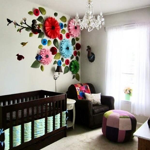 Креативный декор интерьера в детской (подборка)