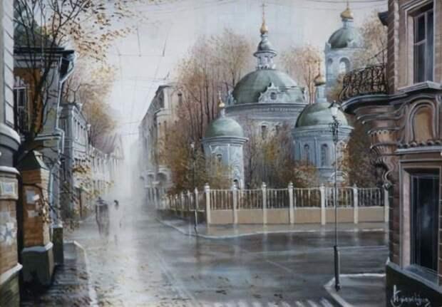 Утро. Автор: Александр Стародубов.