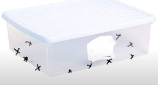Необычное и практичное преображение обычного контейнера