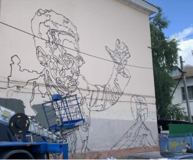 К 22 июня в Краснодаре появится граффити, посвященное диктору Юрию Левитану