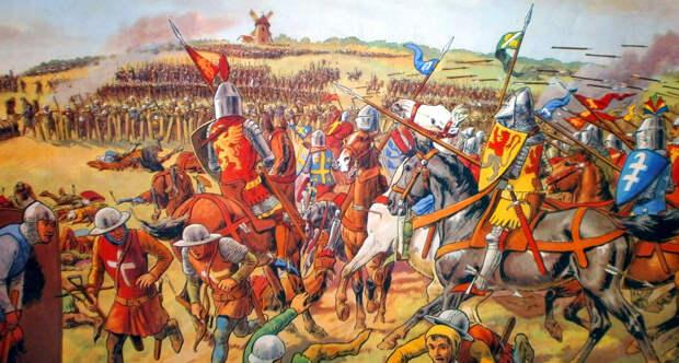 Битва при Креси 1346 года
