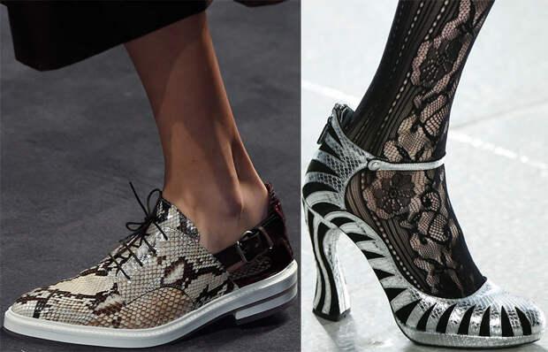 Женские туфли 2016 и модные тенденции сезона