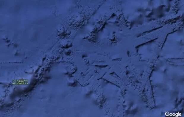На дне Тихого океана обнаружен огромный «древний город»