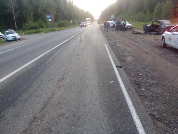 Один человек погиб и три пострадали в аварии на трассе «Ижевск-Воткинск»