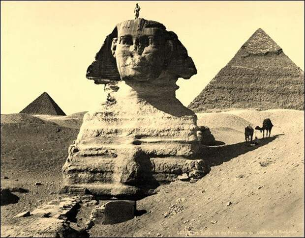 Новые загадки египетского Сфинкса