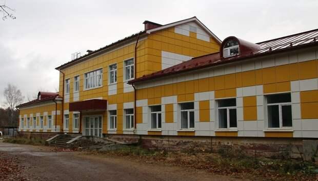 Реконструкция лечебного корпуса в поселке Подольска выполнена на 95%