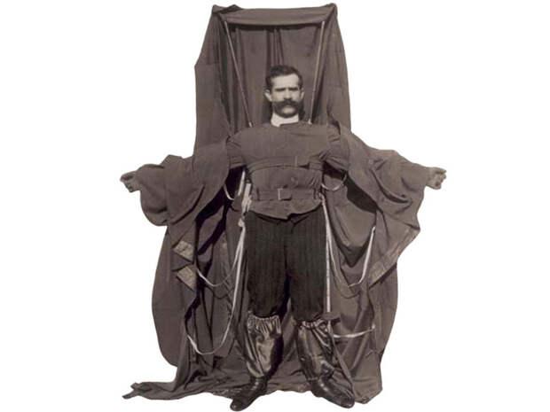 Франц Райхарт Изобретение: плащ-парашют история, факты