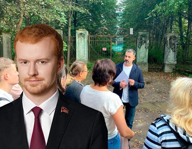 Коммунист, соперничающий в Москве с Дмитрием Певцовым, обратил внимание на странности голосования на дому