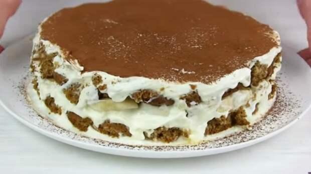 Нежный бюджетный торт без выпечки! Любят все без исключения