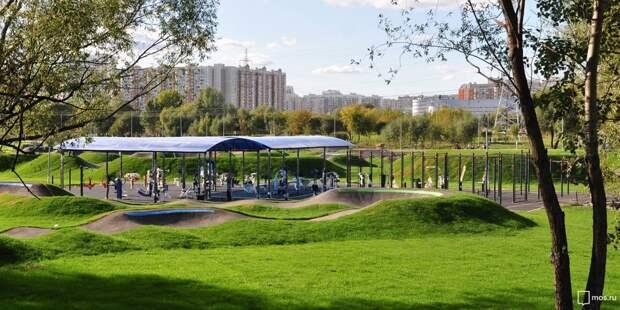 Подготовиться к сдаче нормативов ГТО теперь можно в парке 850-летия Москвы