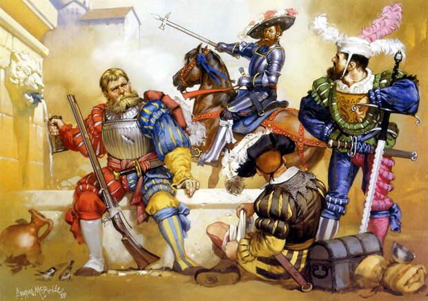 Ландскнехты http://germanhistorydocs.ghi-dc.org - С башмаком на знамени | Военно-исторический портал Warspot.ru