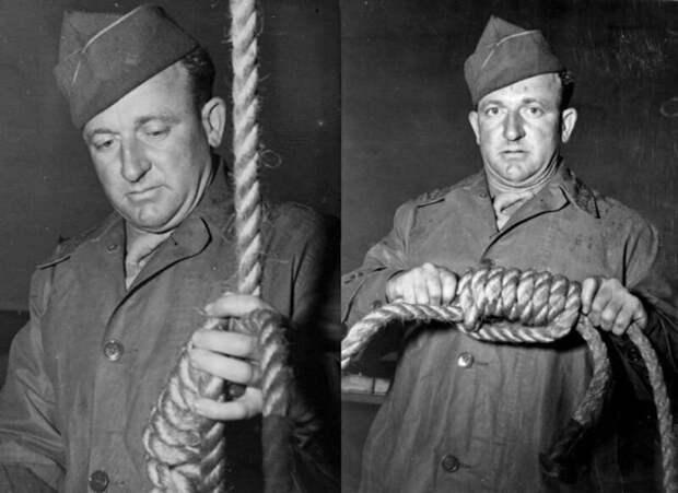 Сержант Джон Вудс. Человек, который отправил на тот свет приговорённых на Нюрнбергском процессе.