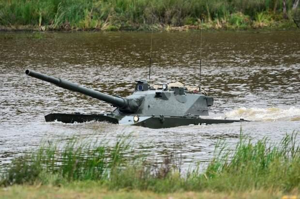 Российский легкий плавающий танк передали на госиспытания