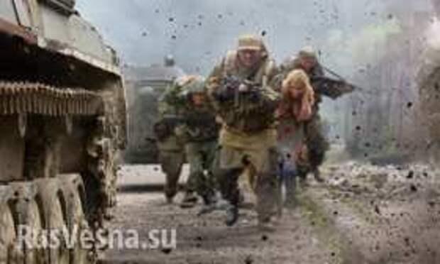 МОЛНИЯ: танковые бои у Горловки и аэропорта, Донецк под огнем | Русская весна