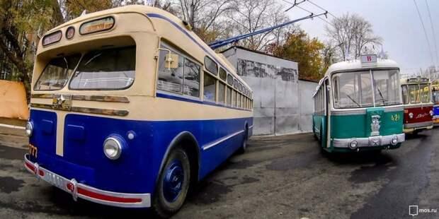 Раритетные модели троллейбусов