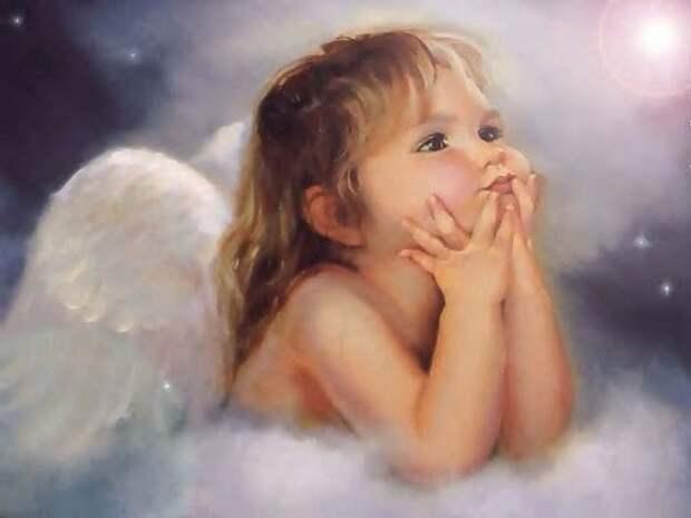 Ангелы рядом с нами живут.