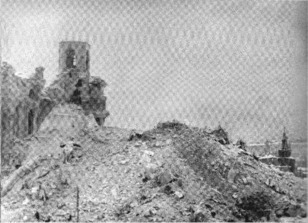 Взрыв Храма Христа Спасителя. Фоторепортаж Ильи Ильфа, 1931 год