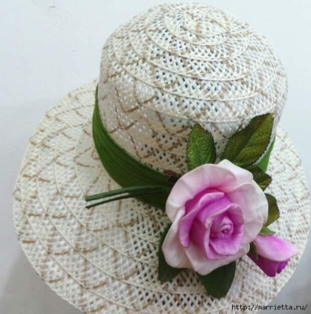 Розы из капрона. Красивые идеи и мастер-класс (4) (493x498, 179Kb)
