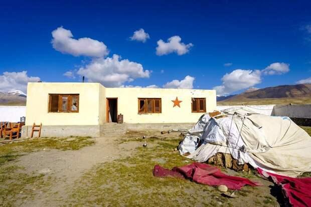 Школа Института Центральной Азии Ваханский коридор, афганистан, вид, горы, природа, путешествие, фотомир