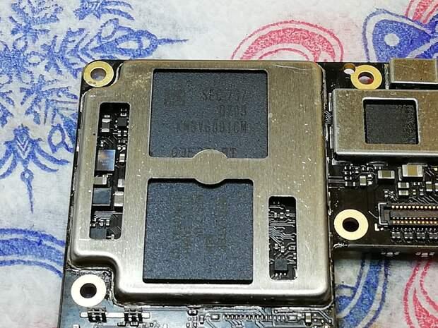 Blackview BV9800. Замена микросхемы памяти EMMC.